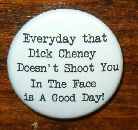 Dick Cheney Button from buttonempire