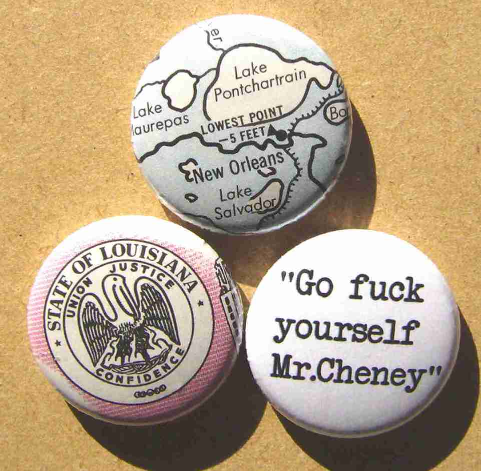 Dr.Ben Marble To Dick Cheney, Sept,8,2005.